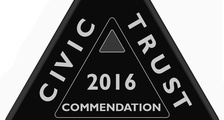 2016 Civic Trust Commendation for Abbey Sands