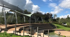 WWT Slimbridge Living Wetland Theatre nearing completion